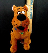 "Scooby Doo Where Are You TY Plush Stuffed Animal beanie Baby 7"" Brown Dog - $11.87"