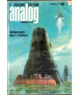 ANALOG SCIENCE FICTION MAGAZINE OCT 1971 FINE RARE - $4.95