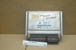 2002 Volkswagen Passat 4 cyl Engine Control Unit ECU 4B0906018CM Module ... - $54.49