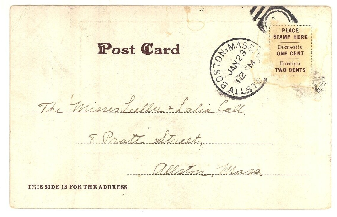 Boat landing Lake Harriet Minneapolis vintage postcard