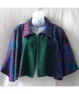 New yak hair short cape in green, purple, blue ... - $15.00