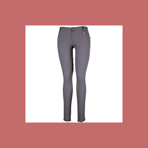 Devon-Aire Ladies All-Pro Dev-Tek Ribbed Hipster Breeches Small Charcoal - NEW! image 1
