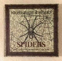 "NWOT, Halloween spooky decor, ""Nightshade & Price's Shokolate Covered Sp... - £14.38 GBP"