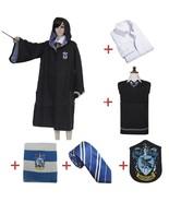 Ravenclaw Luna Lovegood Cosplay Robe Women Wizard Costume Halloween Part... - £51.86 GBP