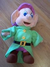 Disney Snow White & the Seven Dwarfs Dopey Plush Stuffed Doll Mattel 199... - $22.00