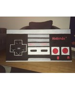 ONE OF A KIND HUGE 24X48 NINTENDO REMOTE CONTROL POP ART PAINTING MAN CAVE - $189.99