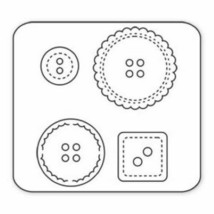 Sizzix Sizzlits Buttons #5 #654430 image 2