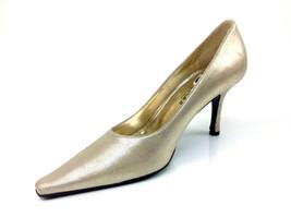 "Versani ""Stella"" Platinum Heels  Womens US Size 5.5 B - $49.49"
