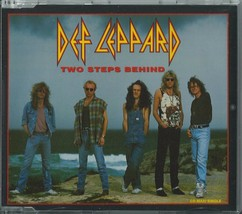 DEF LEPPARD - TWO STEPS BEHIND / TONIGHT / SMC 1993 UK 3 TRACK CD SINGLE... - $12.40