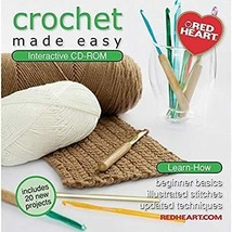 Crochet Made Easy CD-ROM Software - $9.95