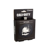 Call of Duty Video Game Skull Logo Stainless Steel Hip Flask NEW UNUSED ... - $19.34