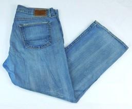 Ralph Lauren Polo Jeans Townshend Blue Denim Jeans W 38 L 29 Button Fly ... - $32.99