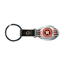 Non Metal Mlb Houston Astros Accent Key Ring By Rico Industries (Length=... - £8.86 GBP