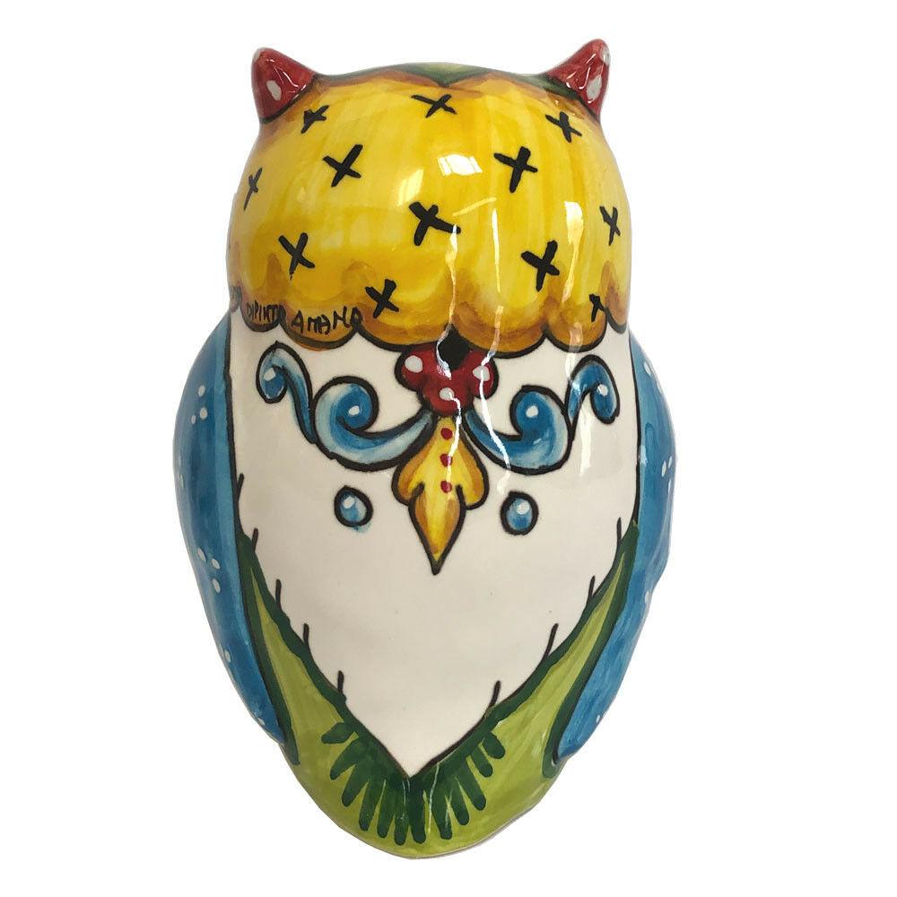 Italian Ceramic Owl - Sberna - Made in Italy