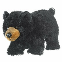 Wild and Wonderful Black Bear Cub Plush Stuffed Animal From Wildlife Art... - $13.67