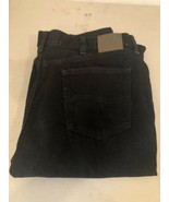 Lee Relaxed Fit Jeans Black Straight Leg - Men's 40 x 30 - $11.88