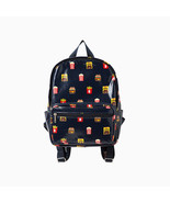 LINE Friends Burger & Chips Pattern Backpack Daily Travel Kids Character... - $80.40