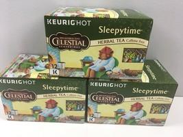 Celestial Seasonings Sleepytime Herbal Tea 36 Keurig K-Cups 3 Boxes 2020 - $44.55