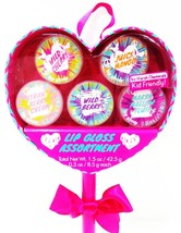 3C4G - 5 PACK - GIRLS - LIP - GLOSS - ASSORTMENT - SET - BRAND NEW - SEALED - $6.29