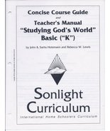 """Concise Course Guide and Teachers Manual (""""Studying Gods World"""" Basic """"K... - $29.99"""
