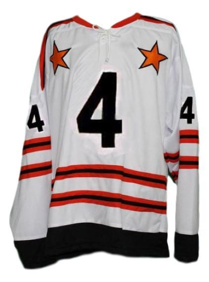 Bobby orr  4 all star retro hockey jersey white   1