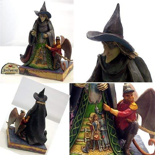 Primary image for Jim Shore Heartwood Creek from Enesco Wicked Witch Figurine 8.5 IN