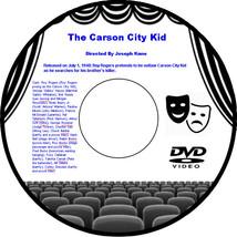 The Carson City Kid 1940 DVD Movie Western Roy Rogers George 'Gabby' Hay... - $3.99