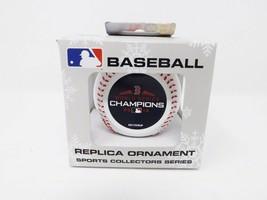 Boston Red Sox Baseball Replica Ornament - $10.44