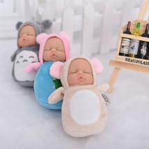 Small kawaii baby dolls plush Bjd bebe doll reborn toys Pendant for chil... - $25.99