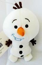 Disney Christmas Ornament Frozen Olaf Snowman Hallmark Plush Doll Small ... - $11.46