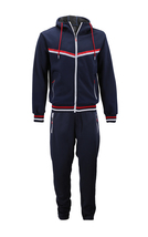 Men's Athletic Sport Casual Running Jogging Gym Slim Fit Sweat Tracksuit Gym Set image 12