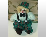 Clown with green plaid hat and pants thumb155 crop