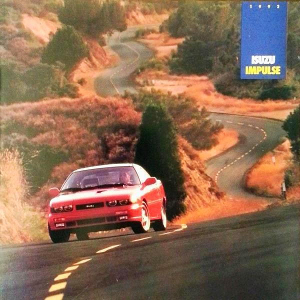 1992 Isuzu IMPULSE sales brochure catalog US 92 XS RS Turbo