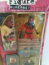 New WWF BONE CRUNCHIN Figure Superset 1999 Jakks KANE ROCK Shamrock Big Boss Man image 3