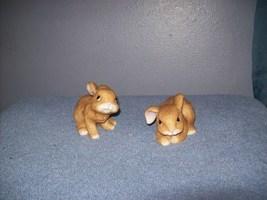 HOMCO ceramic bunnies - $4.99