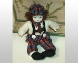 Clown with red plaid hat and pants thumb155 crop