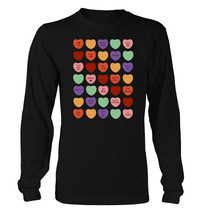 Sweethearts I #81 - Men's Long Sleeve T-Shirt - Funny Dating Relationshi... - $23.99