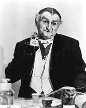 Al Lewis Grandpa the Munsters 16x20 Canvas Giclee Holding Bottle of Love Potion - $69.99