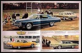 1973 Chevrolet Brochure- Impala Convertible Caprioce Bel Air Xlnt! - $9.50