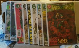 Green arrow  (1st series) #125, 126, 130, 133, 134, 135, 136, 137,  annu... - $29.50