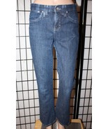 "LEE PLATINUM LABEL Women's 8S Short Gap Free Waistband Denim Jeans 29"" I... - $22.24"
