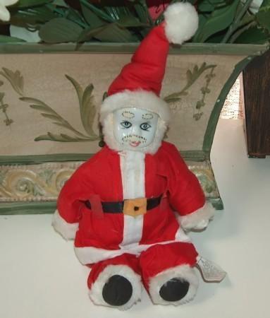 Clown santa grinch seuss