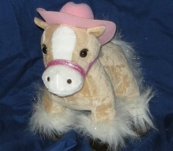 1/2 Price! My Fancy Friend and Me Plush Palomino Tan Pony Horse  - $4.00