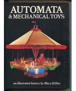 Automata & Mechanical Toys Illustrated History Mary Hillier 2nd Print Bl... - $19.99