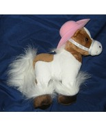 1/2 Price! My Fancy Friend and Me Plush Brown White Pony Horse  - $4.00