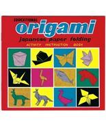 NOS Vintage ORIGAMI Instruction CHILDRENS BOOK Japan Paper Folding Educa... - $14.84