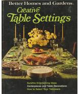 Creative Table Settings Better Homes and Gardens - $6.99