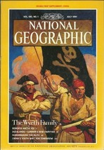 National Geographic: The Wyeth Family (Vol. 180, No. 1) [Magazine] July ... - $9.99