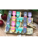 Art drawing wooden Clips,Clothespin,children's Birthday Favor gift Decor... - $3.20+
