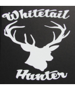 Whitetail Hunter Window Sticker New - $6.00
